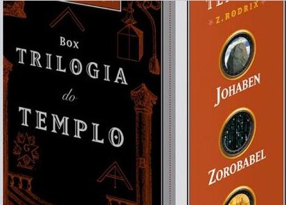 Trilogia do Templo Z.Rodrix Box 3 LIVROS