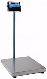 BALANÇA VETERINARIA DIGITAL MIC A 300 KG MICHELETTI BIVOLT -50 X 60 CM PLATAFORMA EM AÇO INOX - COM COLUNA - COM BATERIA
