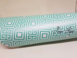 Metálico Geométrico Tiffany - 5 folhas -  Scrap