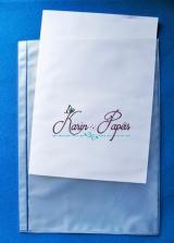 Envelope Plastico / Canguru 15 x 21 ( 20 unidades)