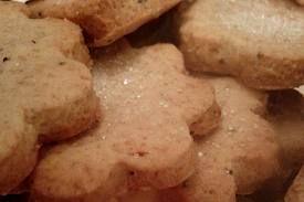 Biscoito Pettit Four Especial  Laranja (formato de flor)  80g