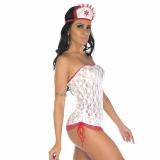 Fantasia Enfermeira Sexy Pimenta Sexy