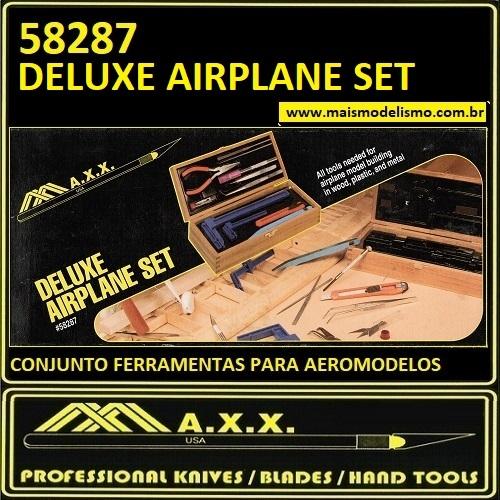Conjunto de Ferramentas Aeromodelismo - MAXX