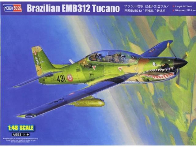 EMB 312 Tucano 1:48 # 81763 - HOBBY BOSS