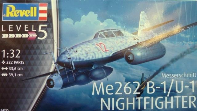Me262 B-1/U-1 Nightfihter 1:32 # 04995 - REVELL