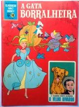 Clássicos Walt Disney n. 10 com A Gata Borralheira - setembro/1969 - Ed. Abril