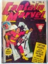 Capitain Marvel Adventures n. 6 - fevereiro/1942 - Fawcett Pubic. Inc - 68 pags
