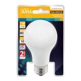 Lâmpada Super LED e27 Bulbo A60 7W Bivolt 2700K
