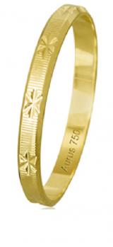 Aliança ouro 18k 2,4 mm Verges