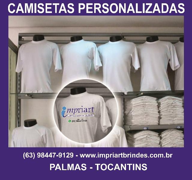Camisetas personalizada - ótimos preços acima de 20 unidades - Palmas - TO