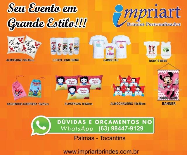 Brindes em Palmas Tocantins - faça seu orçamento conosco!!!