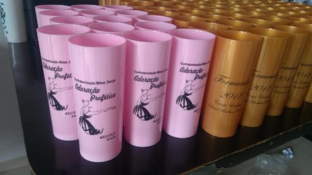Copos long drink em Palmas Tocantins (63) 98447-9129 - Ótimos preços e qualidade é aqui na Impriart Brindes