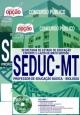 Apostia SEDUC MT 2017 PROFESSOR DE EDUCAÇÃO BÁSICA - BIOLOGIA - Ed Opção