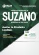 Apostila Prefeitura de Suzano SP 2018 Auxiliar de Atividades Escolares - Ed NovaConcursos