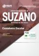 Apostila Prefeitura de Suzano SP 2018 Cozinheiro Escolar - Ed NovaConcursos