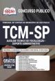 Apostila TCM SP 2020 - Auxiliar Técnico de Fiscalização - Suporte Administrativo - OPÇÃO
