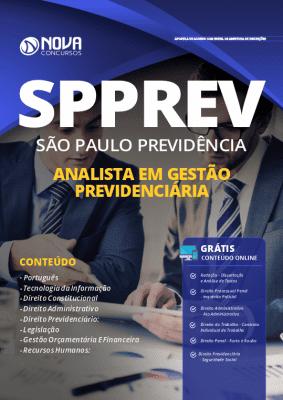 Apostila Concurso SPPREV 2019 - Analista em Gestão Previdenciária ED NOVACONCURSOS