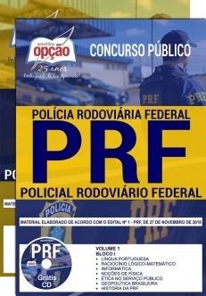 Apostila PRF 2018 - Policial Rodoviário Federal - Ed Opção
