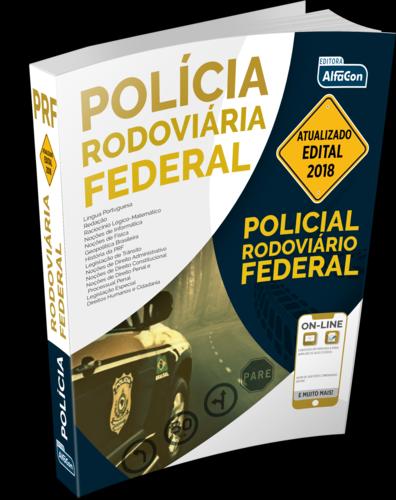Apostila Policial Rodoviário Federal 2018 - PRF - ED ALFACON