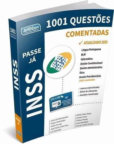1001 Questões Comentadas Inss - Alfacon