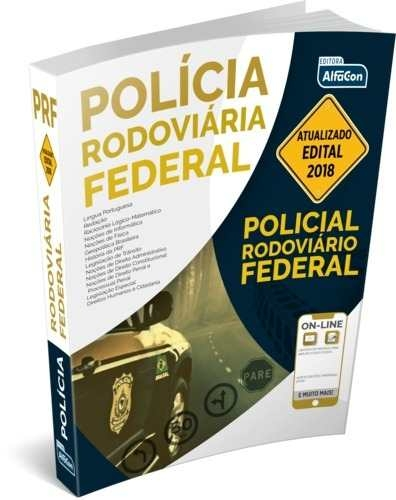 Apostila Prf 2018 Policial Rodoviário Federal Alfacon Volume unico