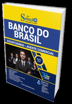 Apostila Banco do Brasil 2021 - Escriturário - Agente Comercial ED NOVACONCURSOS