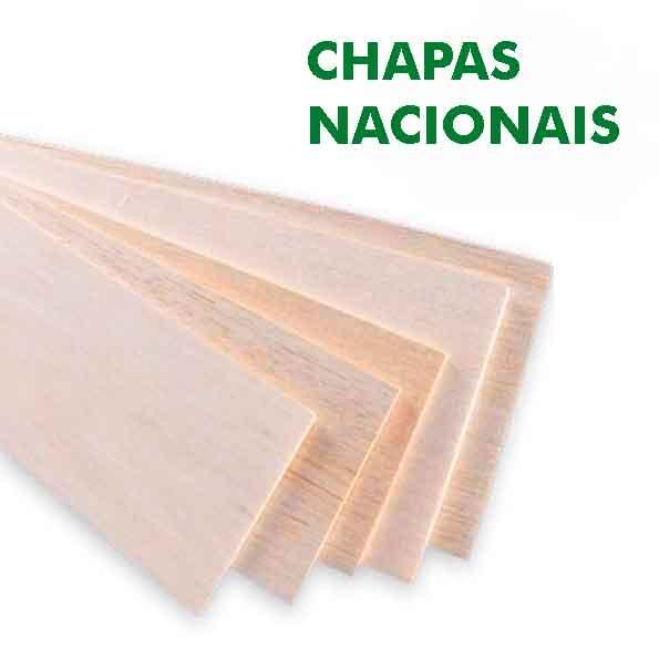 Chapa Balsa Nacional 1,5x100x900mm