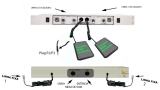 Chave Híbrida 2 Linhas  adaptador Celular  e linha Fixa com Retorno Ouvintes No Ar