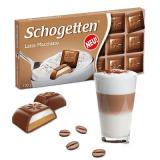 Chocolate ao Leite com Latte Macchiato (Recheio de Café e Nata) Schogetten 100 g (Cód. 4018) (Vencimento 30/09/2020)