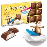 Chocolate For Kids (Recheio de Leite) Schogetten 100 g (Cód. 4372) (Vencimento 31/10/2020)