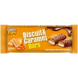 Chocolate ao Leite com Biscoito e Caramelo (5 x 42 g) Choco Fun 210 g (Cód. 4114)