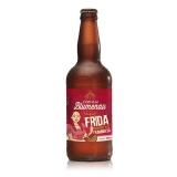 Cerveja Artesanal Estilo Belgian Blond Ale Frida Blond com Franboesa 7,3% 500 ml Blumenau (EDIÇÃO LIMITADA DO DIA DOS NAMORADOS)