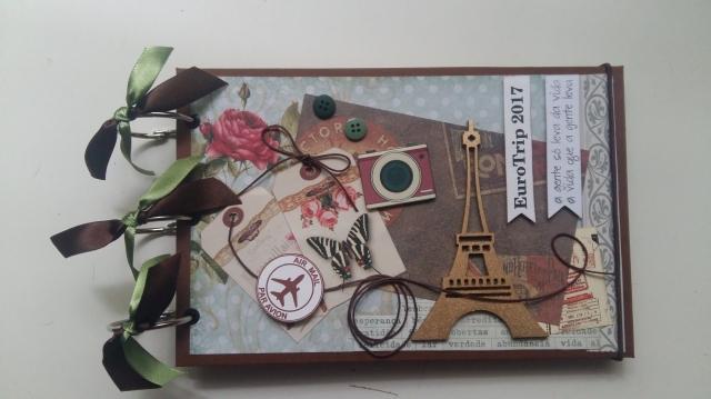 Álbum para fotos paris