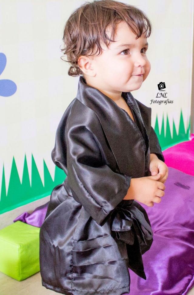 Robe Manga 3/4 Infantil - Sem elastano