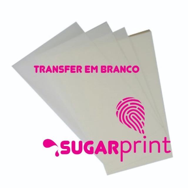 10 Transfer para suspiro em branco para impressão de imagens Sugarprint