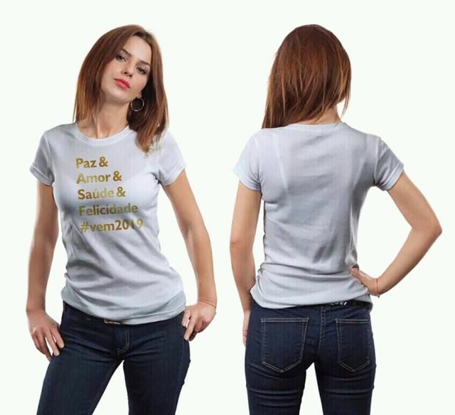 Camisetas final de ano