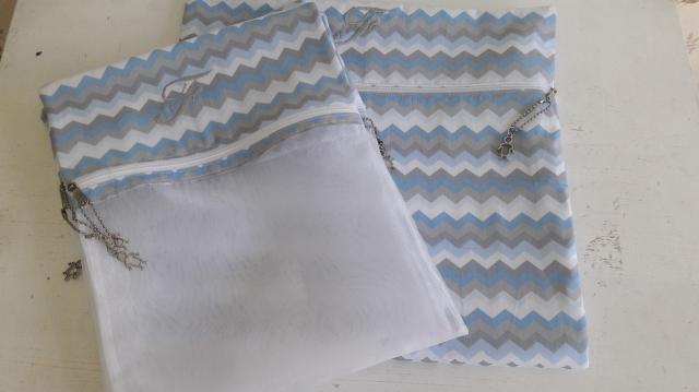 Envelopes para maternidade+saquinho roupa suja