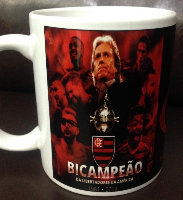 Caneca de Cerâmica Flamengo 2019