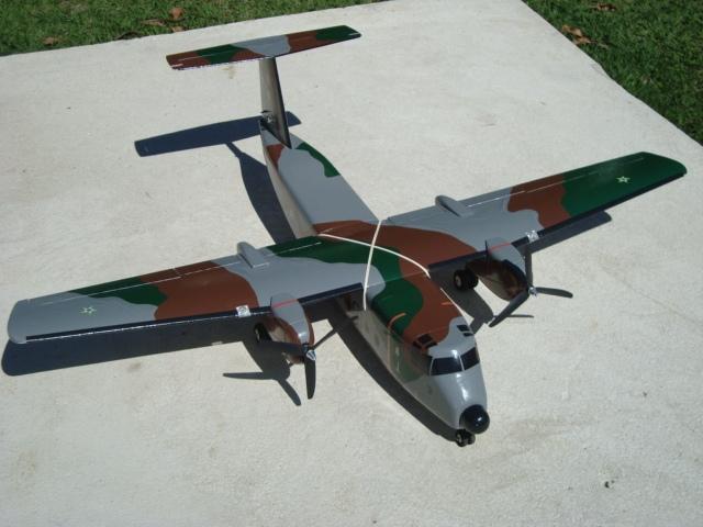Planta Aeromodelo Búfalo C-115 Força Aérea Brasileira.