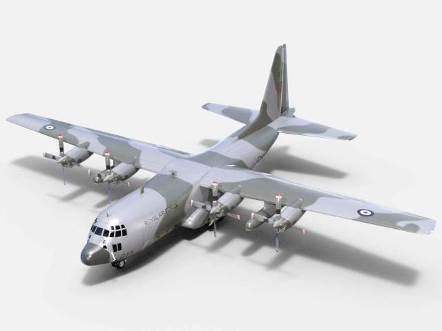 Planta do Aeromodelo Gigante Hércules C-130.
