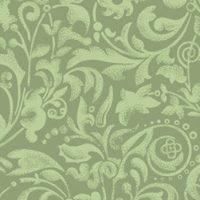 Tecido 100% algodão  - Arabescos Verde Claro - Fabricart