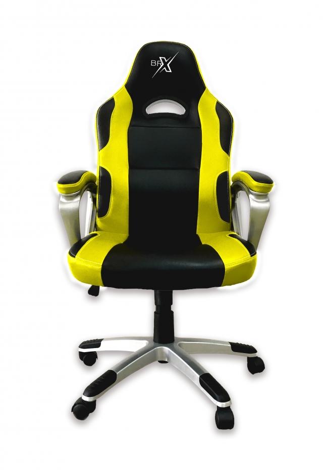 Cadeira Gamer BRX 302 Amarela