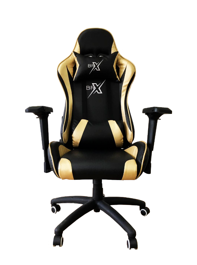 Cadeira Gamer BRX 322 Gold