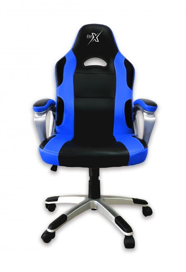 Cadeira Gamer BRX 302 Azul