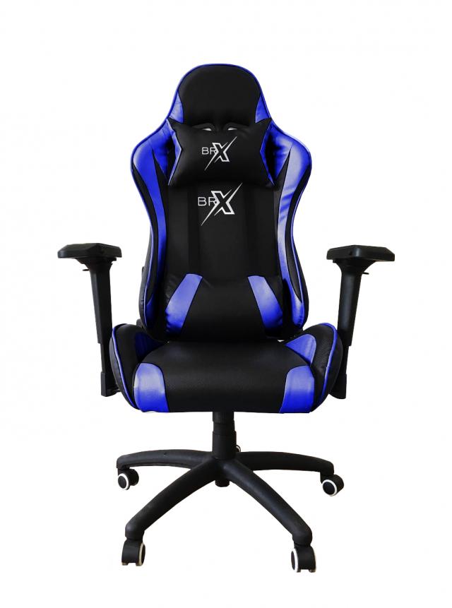 Cadeira Gamer BRX 322 Azul