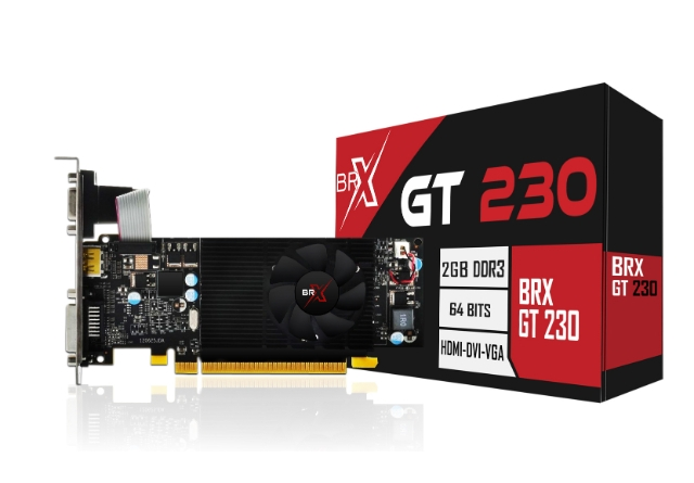 Placa de Vídeo R5 230 BRX