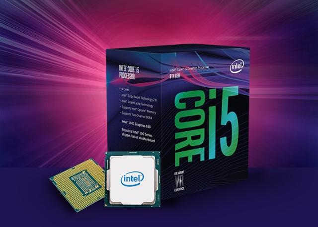 Processador Intel Core i5-8400 Coffee Lake, Cache 9MB, 2.8GHz (4GHz Max Turbo), LGA 1151 - BX80684I58400