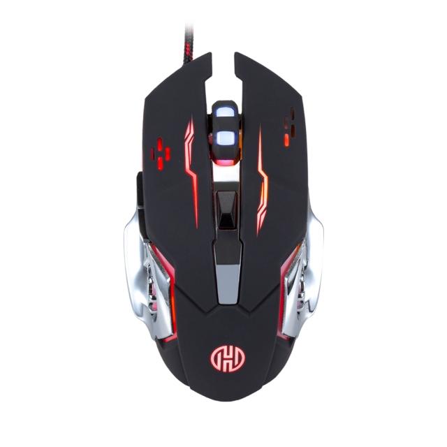 Mouse Gamer Hoopson 2400 DPI Galaxy GTI 100 Preto