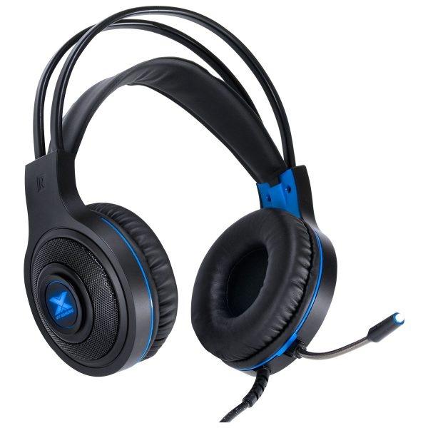 Headset Vinik Vx Gaming Lugh Led Azul