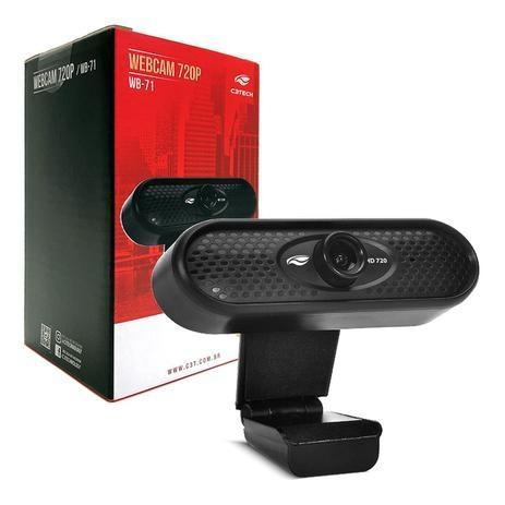 Webcam C3 tech WB-71BK 720p